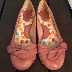 Pink Born Flats